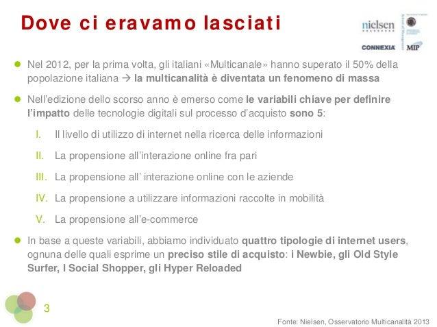 """""""Mobile ed eCommerce: l'alba del consumatore Hyper Reloaded"""" - Christian Centonze, Nielsen Slide 3"""