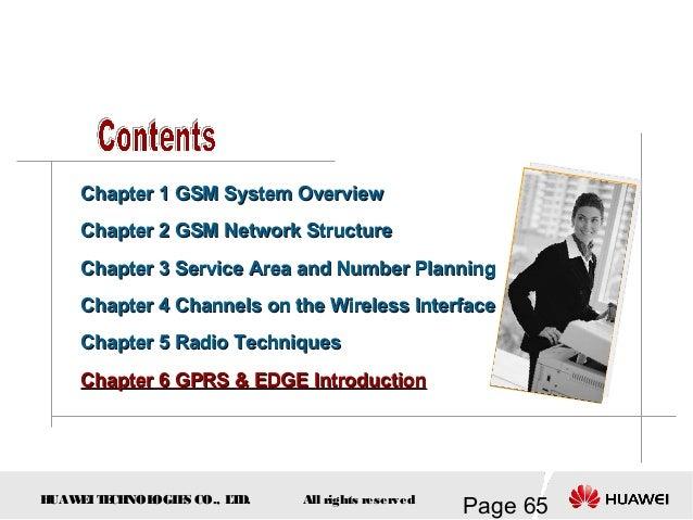 GSM fundamentals (Huawei)