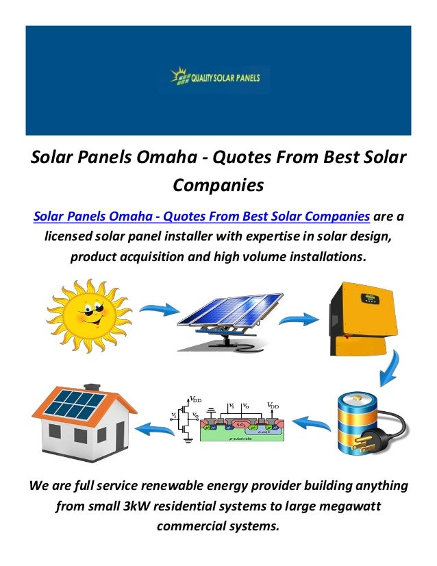 Best Solar Companies >> Solar Panels In Omaha Quotes From Best Solar Companies