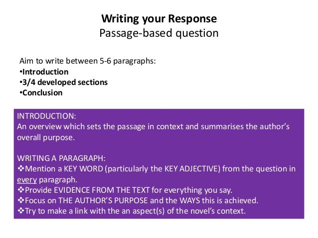 text response omam Not every student must work with prose to demonstrate her ability to use strong textual evidence to support analysis of that text  (two paragraph) response that .