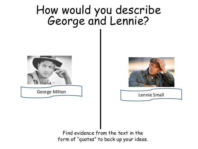 lennie small quotes