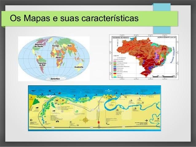 O Mapa E Seus Elementos