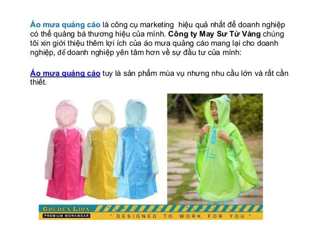 Áo mưa quảng cáo - công cụ marketing hiệu quả trong mùa mưa Slide 2