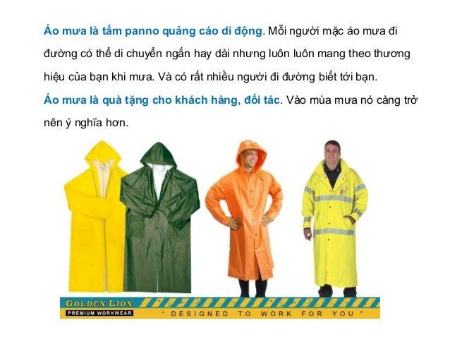 Áo mưa quảng cáo - công cụ marketing hiệu quả trong mùa mưa Slide 3
