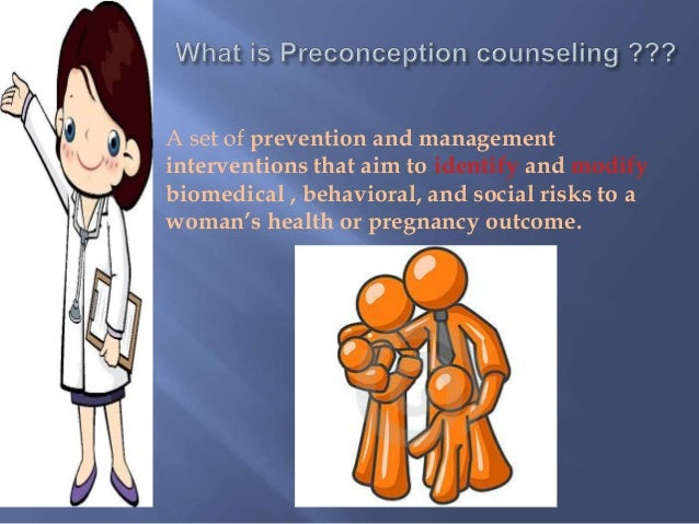 Preconception counseling Slide 3