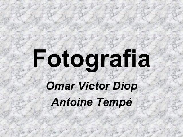 Fotografia Omar Victor Diop Antoine Tempé