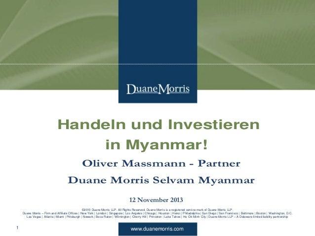 www.duanemorris.com ©2010 Duane Morris LLP. All Rights Reserved. Duane Morris is a registered service mark of Duane Morris...