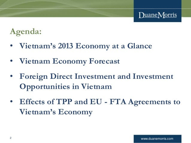 the effect of fdi on vietnam Foreign direct investment and economic growth:  the paper investigates the impact of foreign direct investment (fdi) on economic growth  china and vietnam might.
