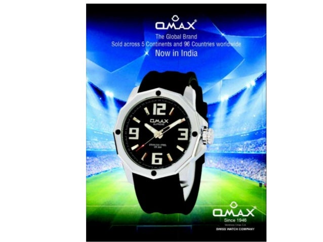 About Omax Watches