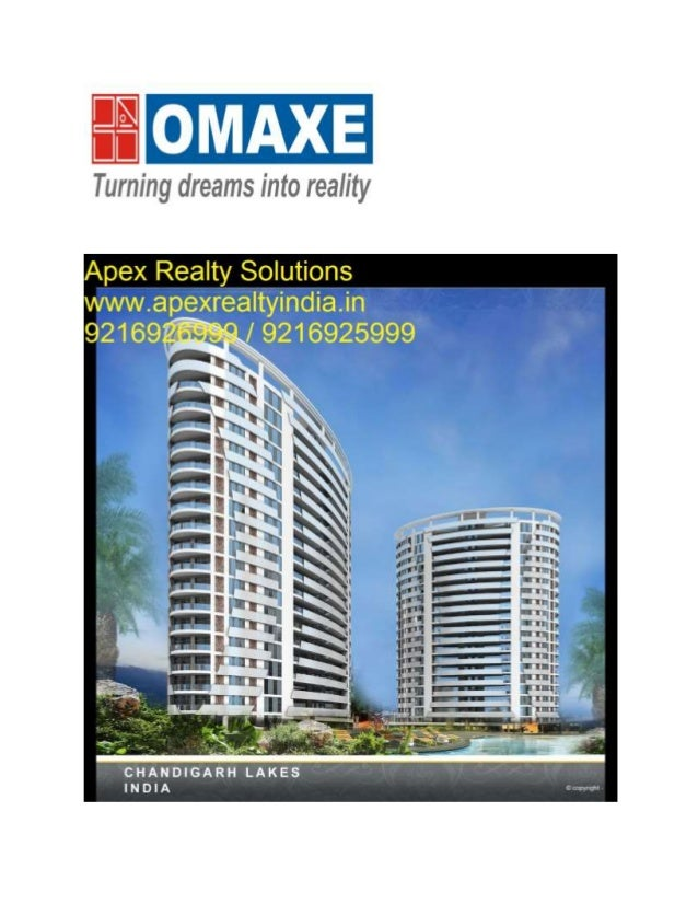 "Omaxe Group Housing Project ""THE LAKE"" Pre Launch Booking Starts at Mullanpur, New Chandigarh. After the successful sellin..."