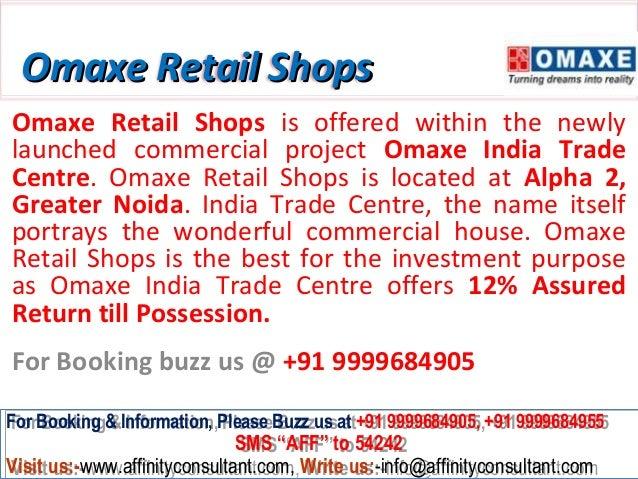 Omaxe Retail Shops Greater Noida