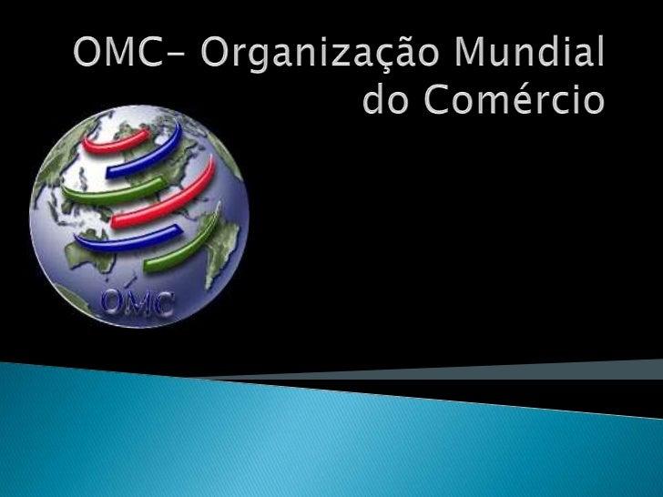    A sede da OMC (Organização    Mundial do Comércio) ,tem o    nome de Centro de William    Rappard e está localizada em...