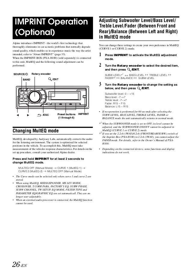 Om Cda 9884 Color Coded Wiring Diagram Alpine Cda on