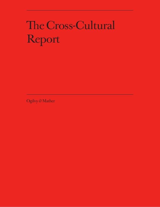 The Cross-CulturalReport