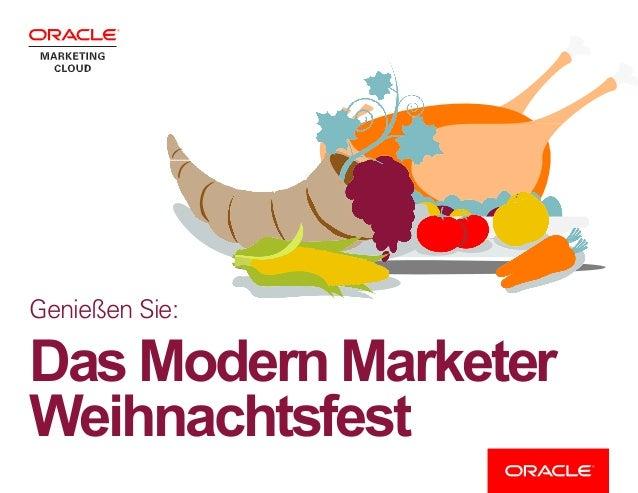 Genießen Sie: Das Modern Marketer Weihnachtsfest
