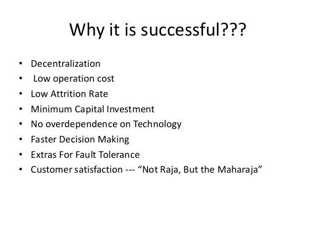 Dabbawala case study making