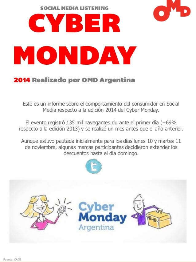 Omd report cyber monday 2014 for Juego de comedor cyber monday