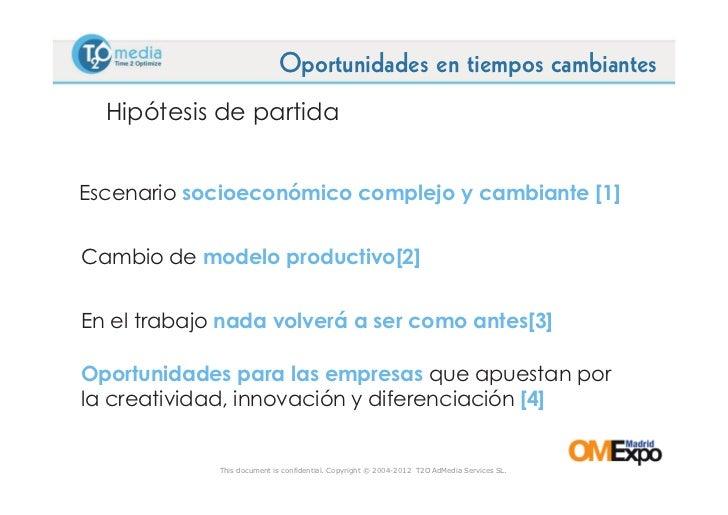 Ponencia de Oscar Alonso en Omexpo 2012 Slide 2
