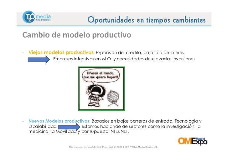 Ponencia de Oscar Alonso en Omexpo 2012 Slide 3