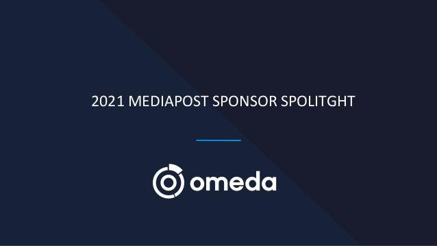 2021 MEDIAPOST SPONSOR SPOLITGHT