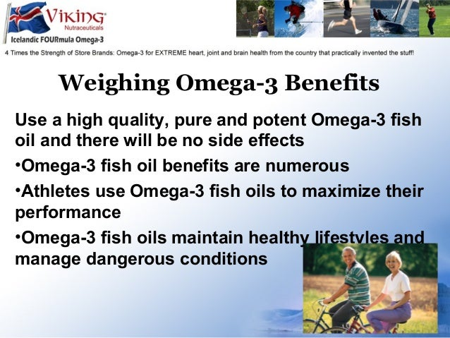 Omega 3 fish oil side effects are there any for Advantages of fish oil