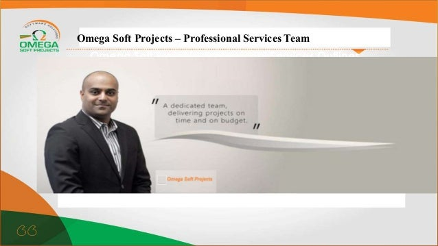 Omega Soft Project – Professional Services Outlines and targets Omega Soft Projects – Professional Services Team