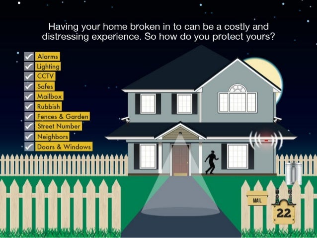 Quick Ways On Keeping A Burglar-Proof Home Slide 2