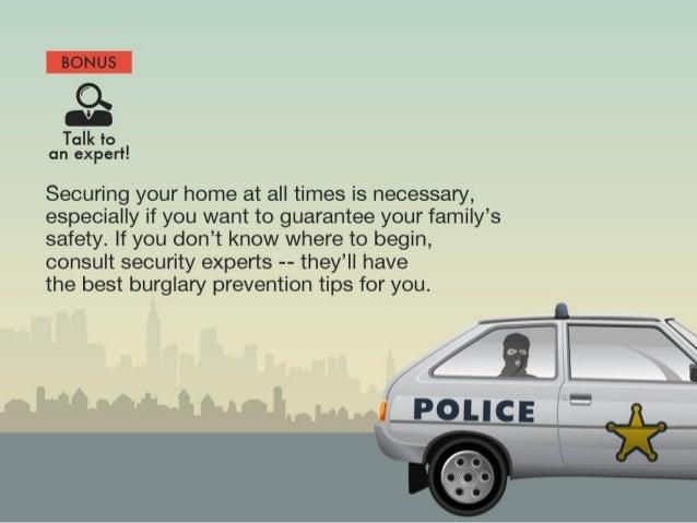 Quick Ways On Keeping A Burglar-Proof Home