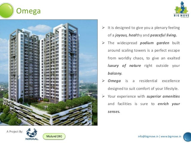 Omega                              It is designed to give you a plenary feeling                                of a joyou...
