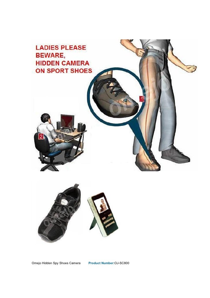 Omejo Hidden Spy Shoes Camera   Product Number:OJ-SC800