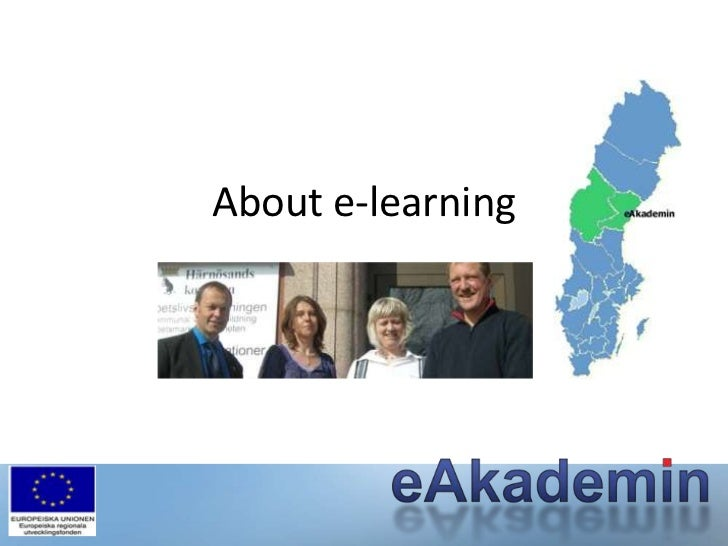 About e-learning