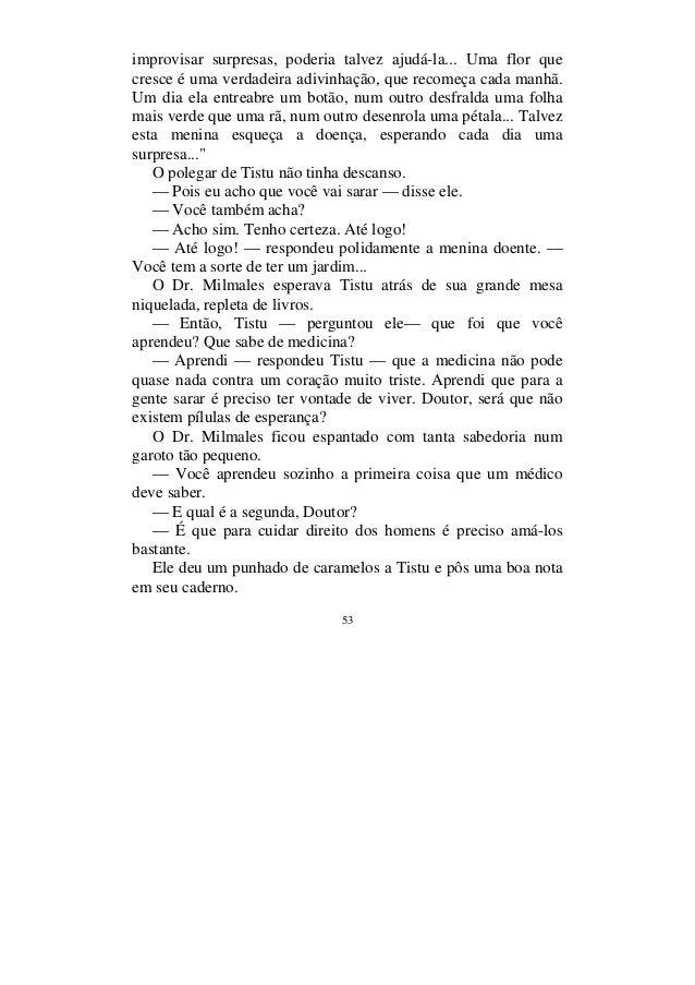 Resumo Do Livro Menino Do Dedo Verde - Resenhas de Livros