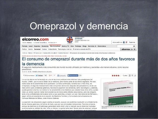 Omeprazol y demencia