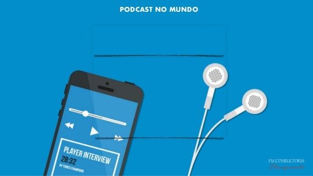 MERCADO PODCAST NO BRASIL PODCAST NO MUNDO FM CONSULTORIA Planejamento