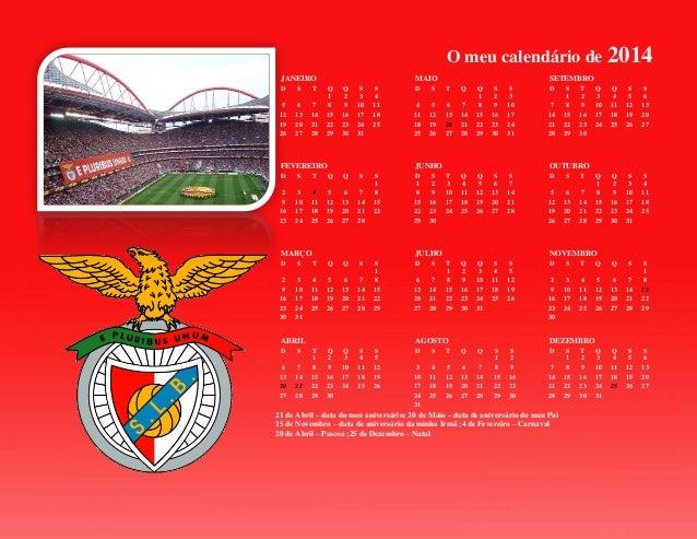 O meu calendário de 2014 JANEIRO D  S  T  5 12 19 26  6 13 20 27  7 14 21 28  MAIO Q 1 8 15 22 29  Q 2 9 16 23 30  S 3 10 ...