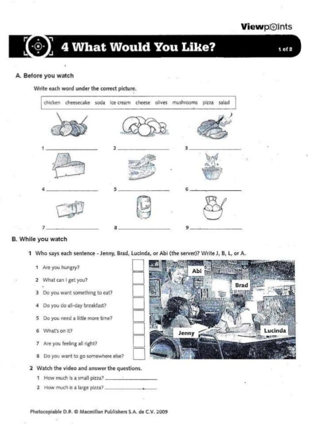 Ome video sheet 4 ppt