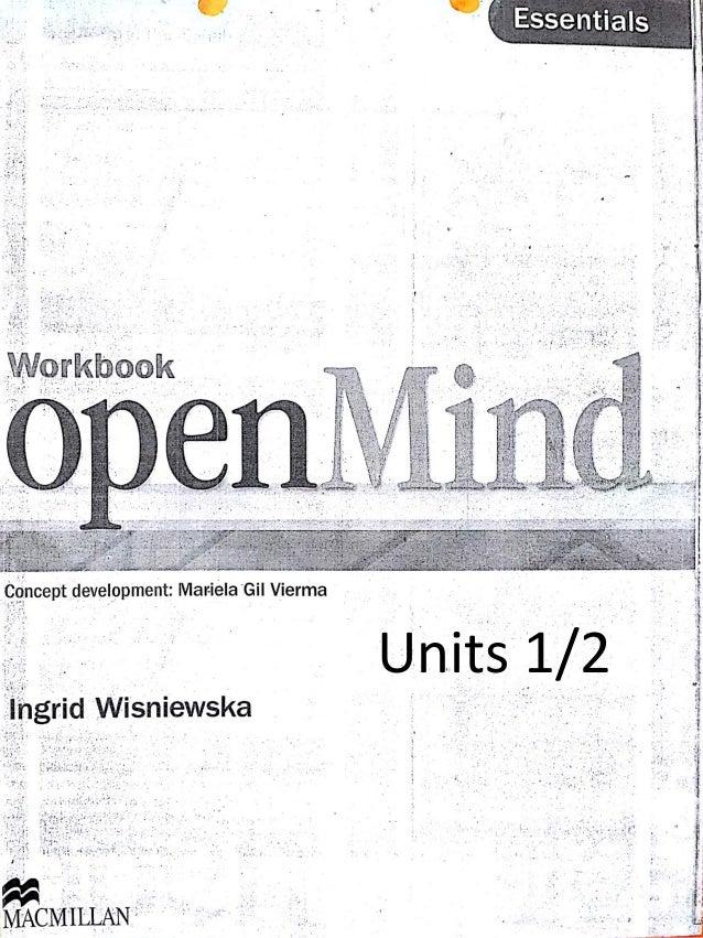 Units 1/2