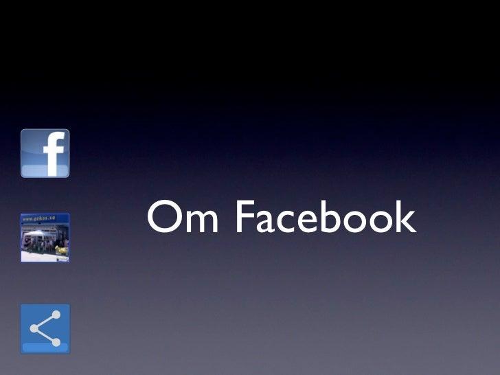 Om Facebook