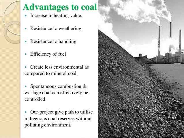 COAL BRIQUETTING-use of coal fines using suitable binder