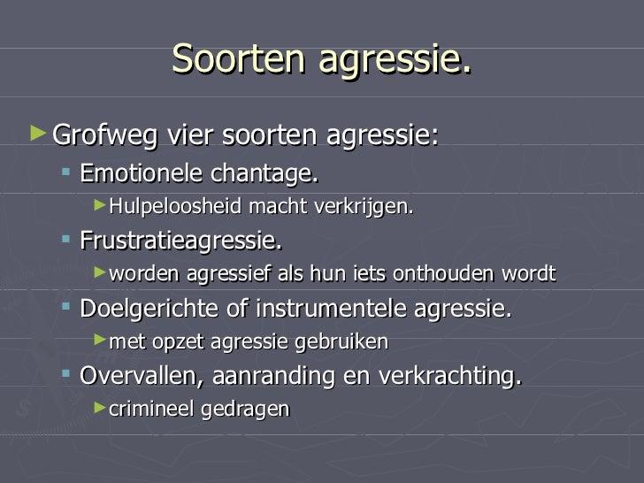 Omgaan Met Agressie