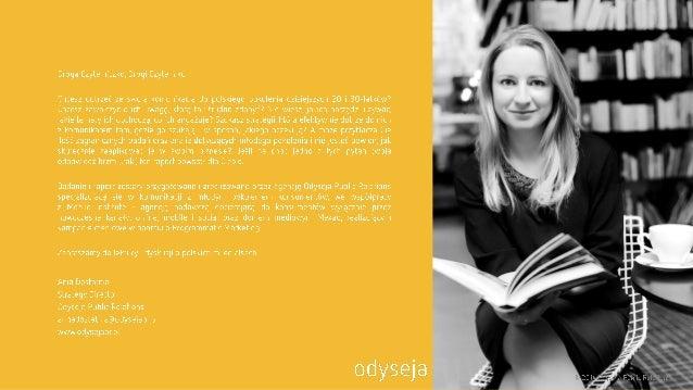 gi  j F.   Droga Czytelniczko,  Drogi Czytelniku  Chcesz dotrzeć ze swoją komunikacją do polskiego pokolenia dzisiejszych ...