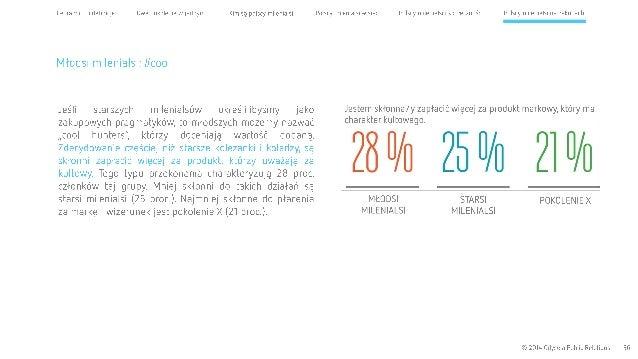 Cel raportu l definicje Dwa pokolenia wjednym Kim są polscy milenialsi  Młodsi milenialsi:  #cool  Jeśli starszych milenia...