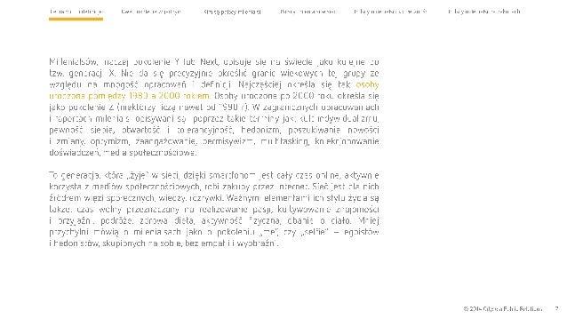 Cel raportu i definicje Dwa pokolenia w jednym Kim są polscy milenialsi Polscy milenialsi w sieci Polscy milenialsi i społ...