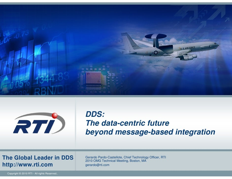 DDS:                                                 The data-centric future                                              ...