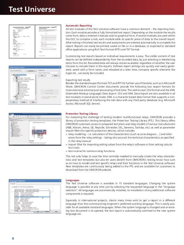 omicron cmc 256 6 manual