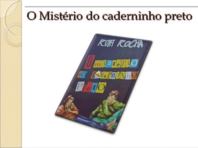 O Mistério do caderninho preto