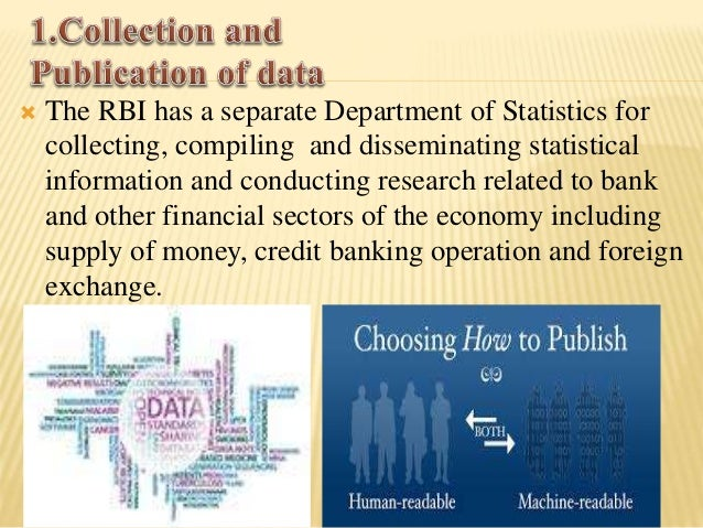  The RBI has been aiding development & promoting  saving & banking habits. Development of the  institutional agriculture ...