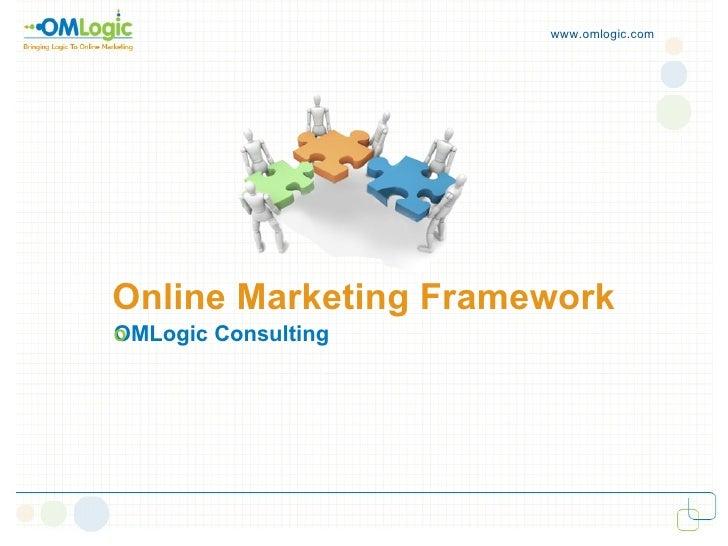 Online Marketing Framework OMLogic Consulting  www.omlogic.com