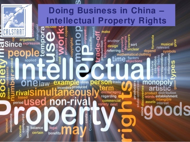 Doing Business in China – Intellectual Property Rights