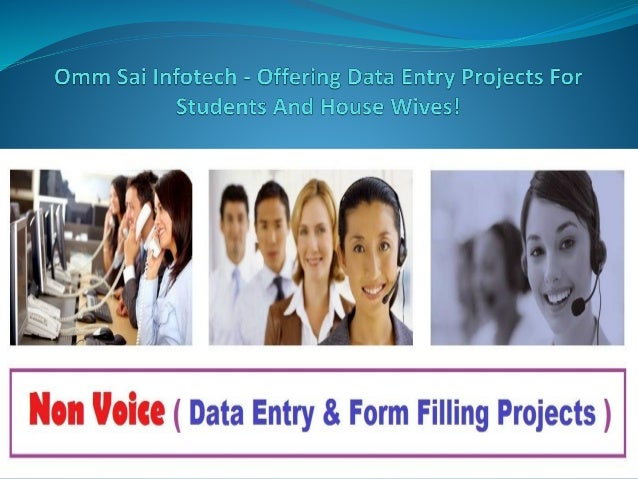 Omm Sai Infotech - Offering Data Entry Projects For Students